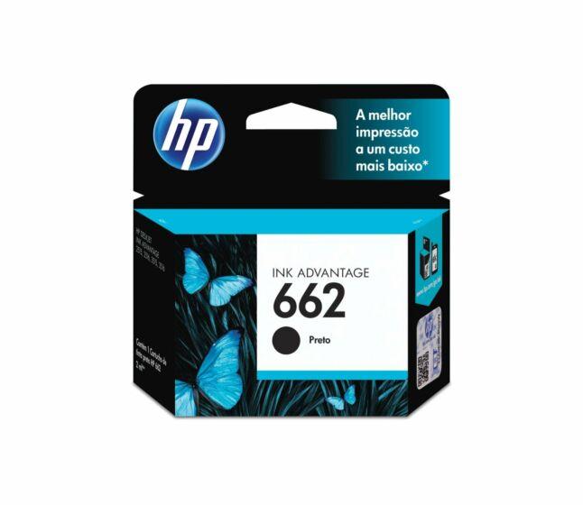 Cartucho de Tinta HP 662 Preto Advantage Original