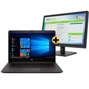Notebook HP 240 G7 + Monitor HP V19b