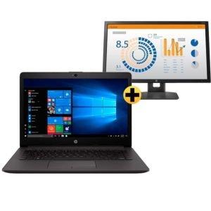 Notebook HP 246 G7 + Monitor HP V24b