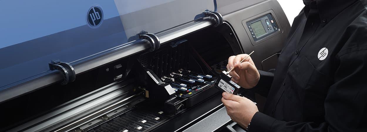 Como limpar uma cabeça de impressão para melhorar a eficiência da tinta