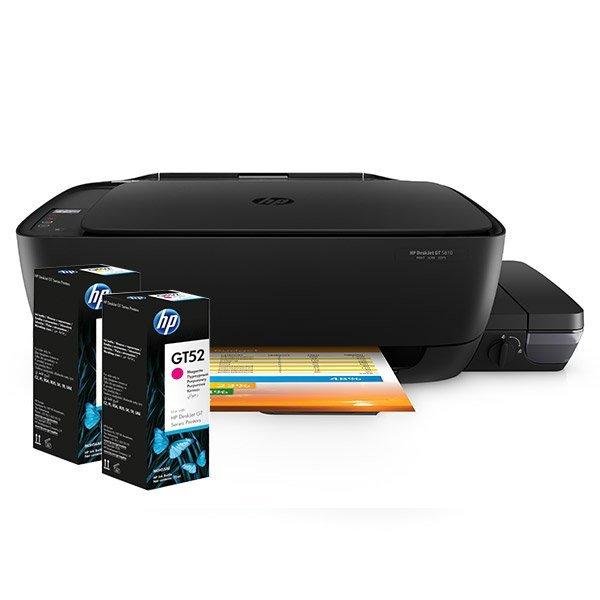 Botellas de Tinta para Impresora Multifuncional HP DeskJet GT 5810