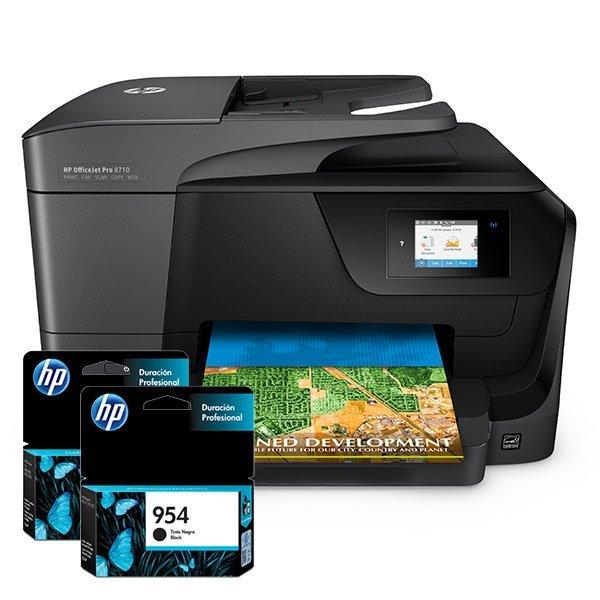 Cartuchos de Tinta para Impresora Multifuncional HP OfficeJet Pro 8710