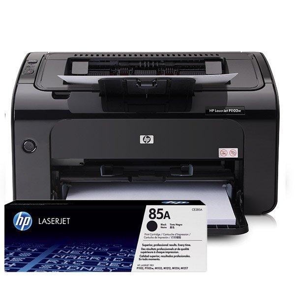Cartuchos de Tóner para Impresora HP LaserJet Pro P1102w