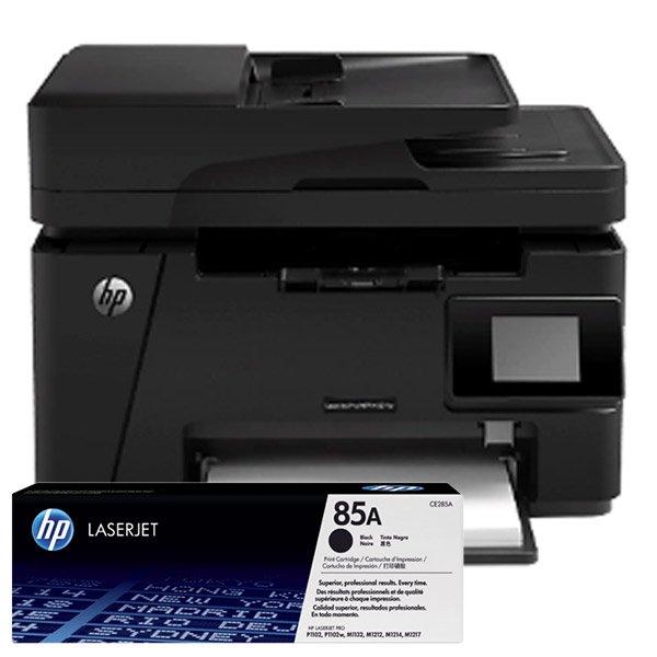 Cartuchos de Tóner para Impresora Multifuncional HP LaserJet Pro M127fw