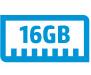 16 GB memory